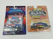 1:64 Muscle Machines 68 HEMI DART / Jada Toys 51 Mercury Die Cast Lot