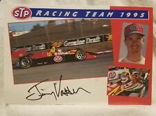Pre-owned ~ Signed 1995 Jimmy Vasser #12 Chevy Promotional Picture Card STP-1911