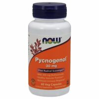 Pycnogenol 60 Caps 30 mg by Now Foods
