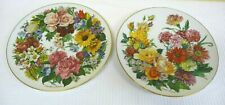 2 Hutschenreuther Limited Edition Decorative Hanging Wall Plates 10""