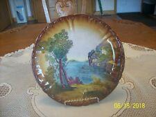 Franz Anton Mehlem Royal Bonn Landscape Porcelain Plate Germany ca 1885-1920