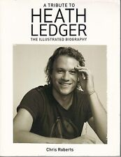 HEATH LEDGER  The Illustrated Biography  large paperback book