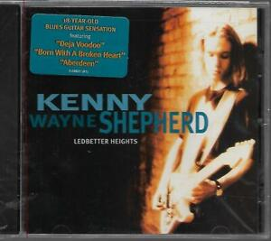 Sealed CD: Kenny Wayne Shepherd - Ledbetter Heights. 18 Year Old Blues Sensation