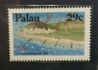 Palau Iwo Jima 29c stamp GMA Gem MT 10