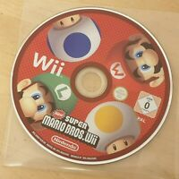 New Super Mario Bros. (Nintendo Wii, 2009) DISC ONLY
