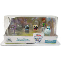 Disney Store Puppy Dog Pals 6 Figure Play Set Figurine Bingo Rolly DAMAGED BOX B