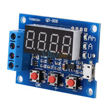 1x Battery Capacity Meter Discharge Tester 18650 Li-ion Lithium + Load Resistors