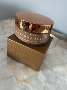 NEW IN!!! BEAUTY PIE AWESOME BRONZE™ LUXE SHIMMER OIL BODY BALM 100ML BNIB