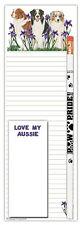 Australian Shepherd Dog Notepads To Do List Pad Pencil Gift Set