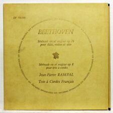 TOURNUS COLLOT JARRY RAMPAL - BEETHOVEN serenades DISCOPHILES FRANCAIS LP