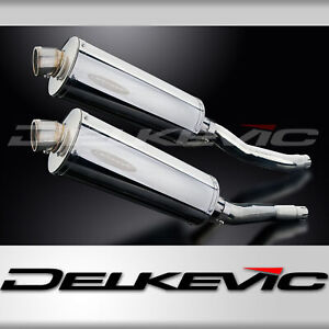 YAMAHA XJ600N XJ600S DIVERSION 92-04 350mm OVAL STAINLESS BSAU SILENCER EXHAUST