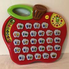 Vtech Alphabet Apple Educational Learning Toy Alphabet Phonics Lights Music