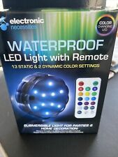 Waterproof Led Light With Remote