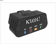 PLX Kiwi 4 Bluetooth Auto OBDII Code Scanner Reader for iPhone & Android