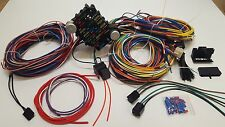 1935 - 1940 Ford Car 21 Circuit Wiring Harness Wire Kit NEW Standard Deluxe