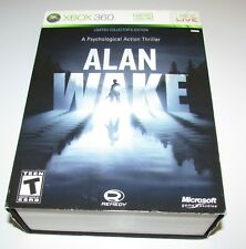 Alan Wake Limited Collector's Edition (Missing Soundtrack) Xbox 360