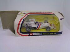 Vintage Corgi DieCast #160 Hesketh 308 F1 Car James Hunt 1975 Mettoy Boxed