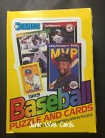 1989 Donruss Baseball (36 Pack) Card Wax Box Griffey Jr, Johnson Rookies