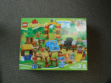 New LEGO Duplo Town 10584 Park Forest Play Building Set