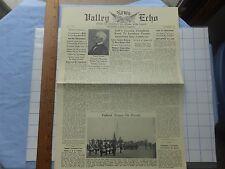 1963 Potomac Ed Fantasy Newspaper-Sept 1863- Mooresville, WV; Loudoun Co.; more