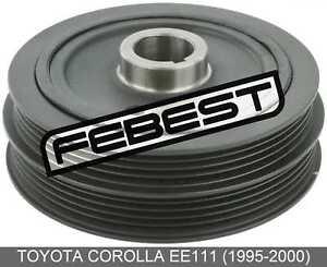Crankshaft Pulley Engine 4Afe/5Afe/7Afe/8Afe For Toyota Corolla Ee111