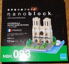 Cathedrale Notre-Dame De Paris Nanoblock Micro-Sized Building Block Micro Brick