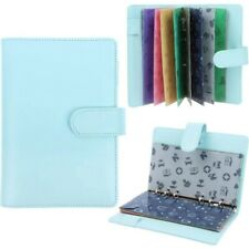 28 Pieces PU Leather Budget Planner Organizer Cash Envelope System for Budg R6
