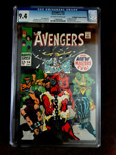 AVENGERS 54 CGC 9.4 1ST APPEARANCE OF THE NEW MASTERS OF EVIL