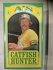 Athletics A's HOF JIM CATFISH HUNTER 1974 REUNION Bobblehead SGA NEW RARE