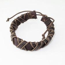 Leather Braided Cuff Fashion Bracelets