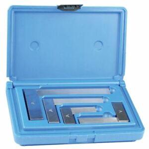 """PEC 7000-S-4 4 Pc 2""""- 6"""" Solid Square Set in Case"""