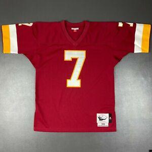 100% Authentic Joe Theismann Mitchell Ness 1982 Redskins Jersey Size 40 M Mens