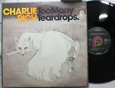 Country Lp Charlie Rich Too Many Teardrops On Pickwick