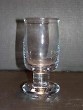 Signed Holmegaard HG Bang Per Lutken Denmark Studio Art Glass Goblet Stem