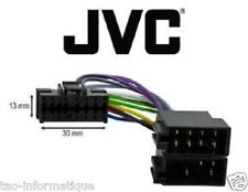 Cable adaptateur ISO autoradio JVC KD-G162 KD-G230 KD-G300 KD-G321 KD-G322