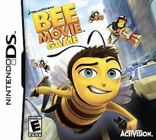 Bee Movie Game (Nintendo Ds, 2007) Complete Case Manual Excellent
