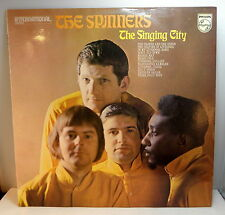 THE SPINNERS / The Singing City - LP (UK Folk)