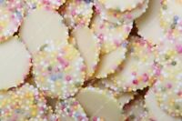 SNOWIES WHITE CREAM CANDY 1KG RETRO SWEETS PICK N MIX