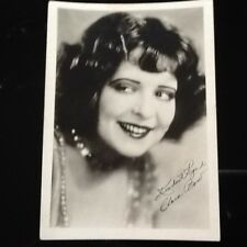 Clara Bow SIGNED 5x7 Photo  The IT Girl  20s Actress  Cute & Sexy