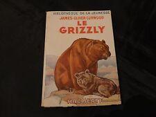 le grizzly-j-o-curwood-bibliothèque de la jeunesse