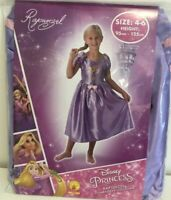 Rapunzel Fairytale Classic Costume Size 4 - 6 New girls Princess dress up party