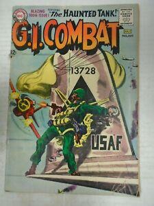 DC G.I. COMBAT #100 (1963) Haunted Tank, Joe Kubert, Jack Abel, Ross Andru