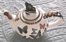 2007 PAUL CARDEW  BEAUTIFUL  BUTTERFLIES  2 cup TEAPOT Excellent Condition