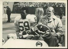 Football NFL 1970's Press Photo 5x7 San Francisco 49ers #59 Injury Golf Cart