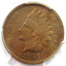 1909-S Indian Cent 1C Coin - PCGS VF30 - Rare Key Date Penny - $550 Value!