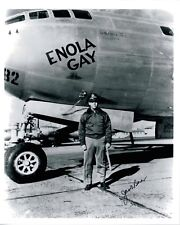 Jacob Beser: Signed Enola Gay Photo WWII: Hiroshima / Nagasaki Atomic Bomb Crew