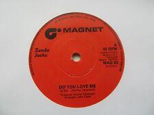 "ZENDA JACKS Do You Love Me/Do You Love Me (Special Disco Mix) UK 7"" Single"