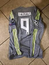 Real Madrid Adizero Benzema France Formotion Player Issue Shirt  Match Unworn