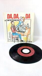 45 RPM Zam - Da,Da, Da Vinyl Vintage Music 80s 70s