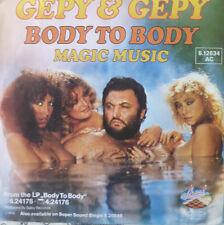 """7"""" 1979 GERMAN PRESS RAR MINT-Gepy & Gepy Body to body"""